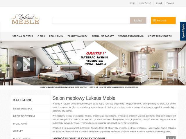 salon meblowy luksus meble wwwinfostarpl